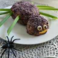 Spider Taco Cheese Ball for Halloween