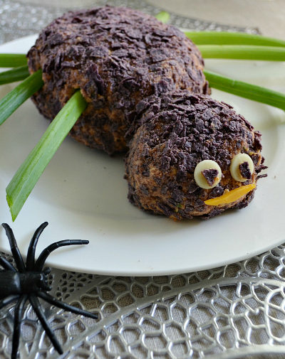 Spider Taco Cheese Ball