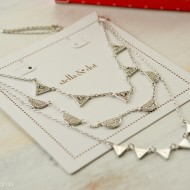 Versatility with the Stella & Dot Pavé Chevron Necklace