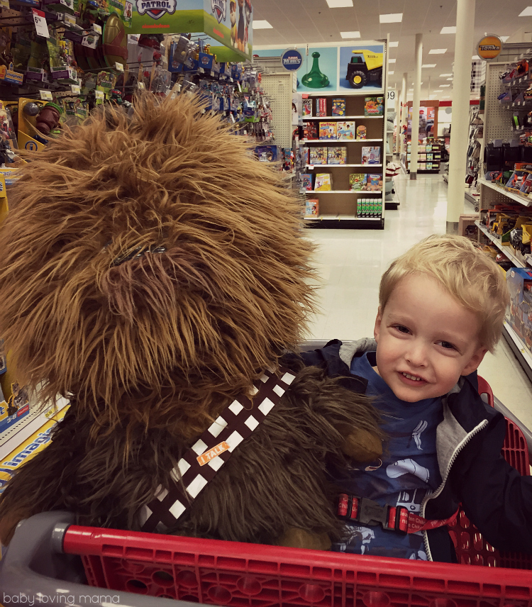 Chewie did not come home with us.