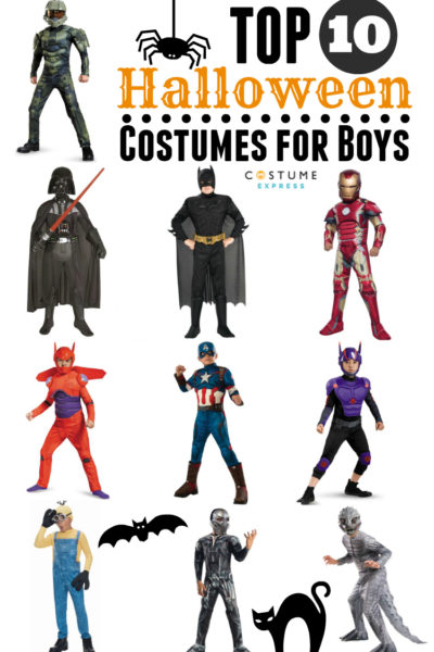 Top 10 Halloween Costumes for Boys