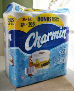 Charmin Ultra Soft Bonus Package at Sams Club