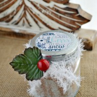 Cocoa Holiday Gift Jar Craft