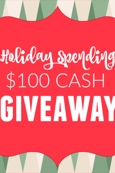 Holiday Spending Cash Giveaway