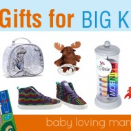 Great Gifts for BIG KIDS – Ages 5 to 8 years: Holiday Gift Guide Round Up
