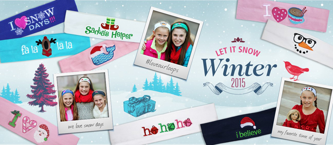 Logo Loops Holiday banner