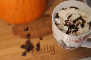Magical Pumpkin Hot Chocolate