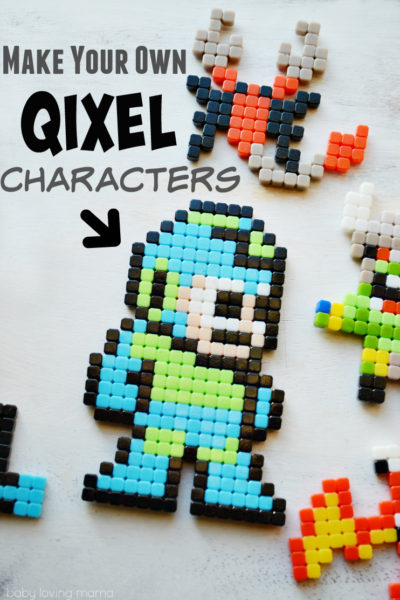 Make Your Own Qixel Characters