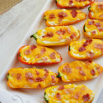 Sweet Pepper Poppers: Low Carb Appetizer
