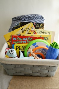 Potty Training Tip Special Book and Toy Basket