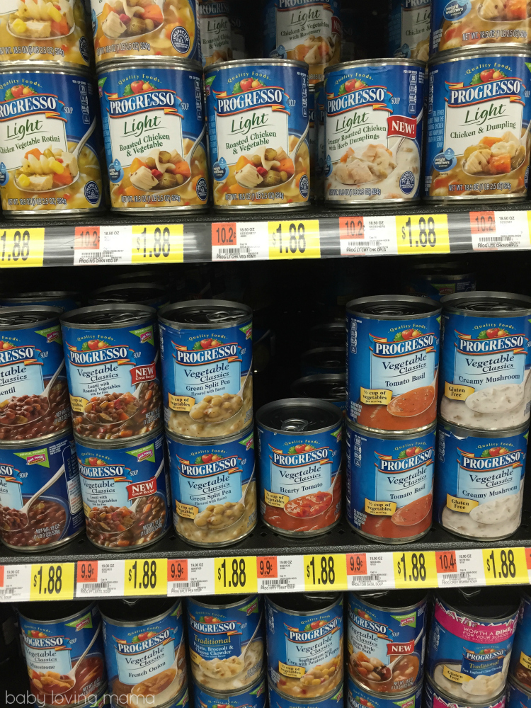 Progresso Soup at Walmart