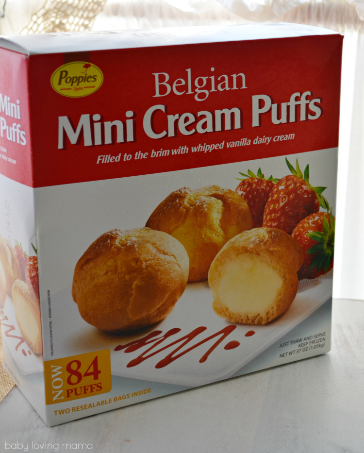 Sams Club Belgian Mini Cream Puffs