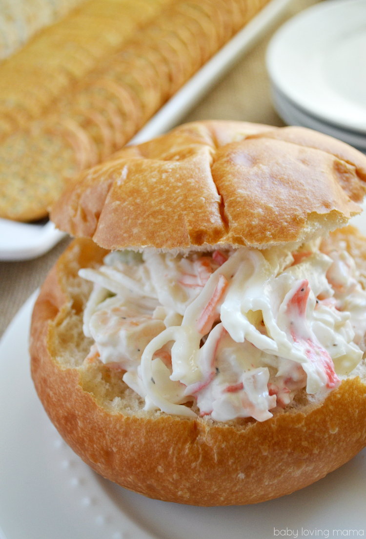 Sams Club Seafood Salad Sandwich