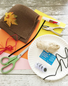 Learn how to make this Scarecrow Paper Plate Craft for Thanksgiving or fall! This kid craft is perfect for preschool and elementary school aged kids.