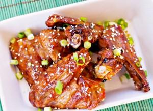 Asian Style Glazed Chicken Wings