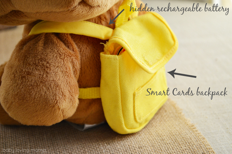Fisher Price Smart Toy Bear Backpack