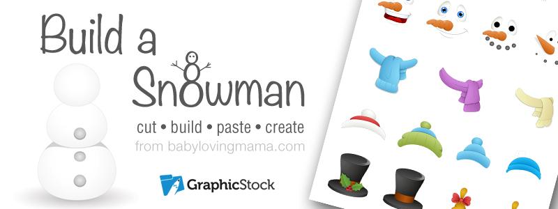 GraphicStock Build a Snowman Header