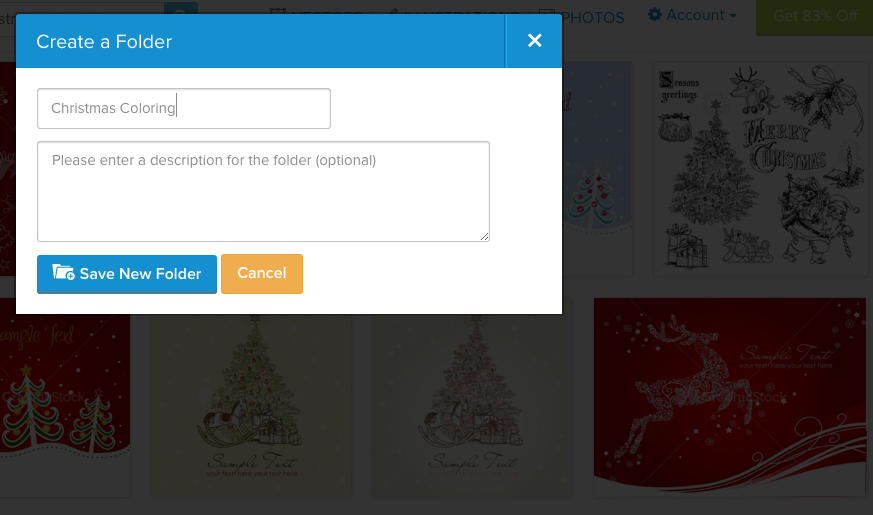 GraphicStock Create Folder