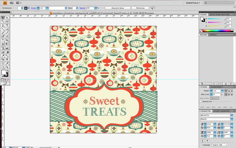 GraphicStock Sweet Treats Bag