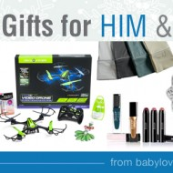 Great Gifts for Him and Her: Holiday Gift Guide Round Up