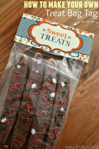 How to Make Your Own Treat Bag Tag