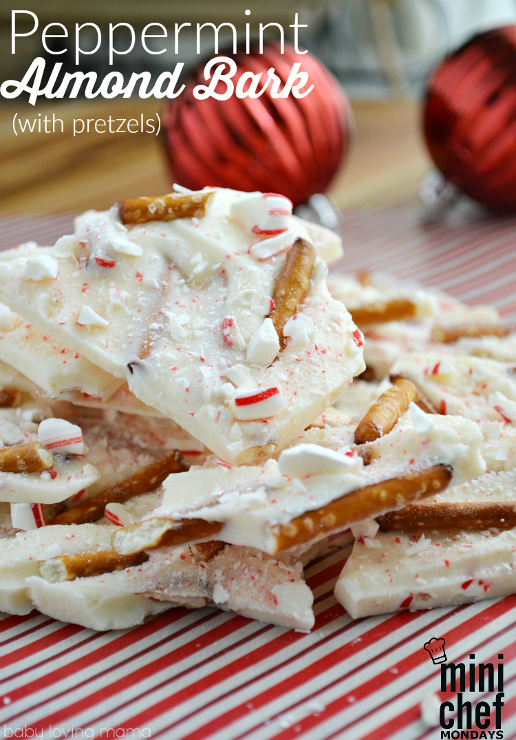 Peppermint Almond Bark Recipe with