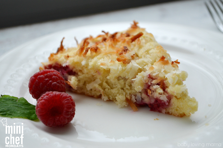 Raspberry Coconut Coffee Cake Recipe
