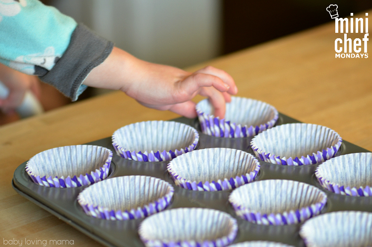 Adding Muffin Cup Liners