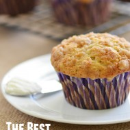Best Banana Crumb Muffins | Mini Chef Mondays