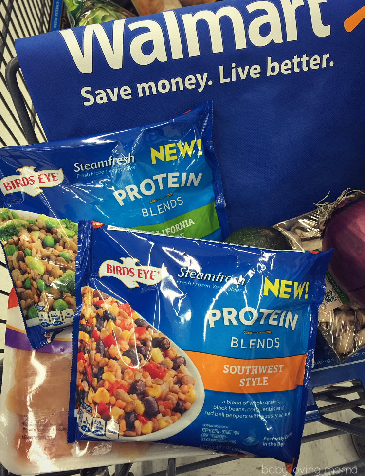 Birdseye Protein Blends at Walmart