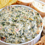 Hot Bacon Spinach Dip