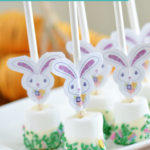 Easter Bunny Marshmallow Pops | Mini Chef Mondays