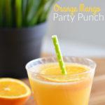 Orange Mango Party Punch