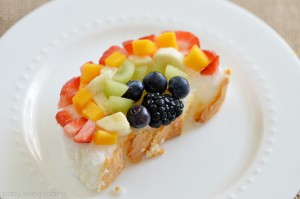 Rainbow Fruit Art Kids Snack