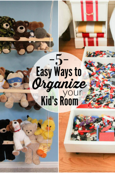 5 Easy Ways to Organize a Kid's Bedroom