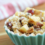 Hearty Apple Baked Oatmeal