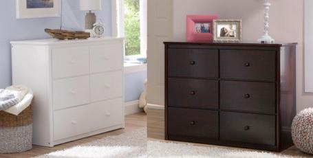 Delta Somerset 6 drawer Dresser