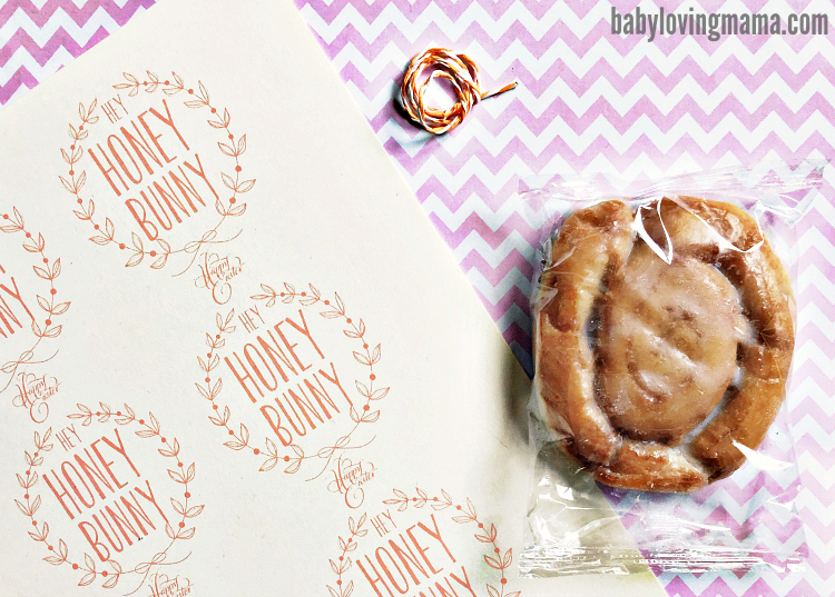 Hey Honey Bunny Easter Treat Free Printable