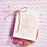 Easter Treat Free Printable: Hey Honey Bunny