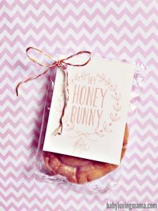 Hey Honey Bunny Free Printable