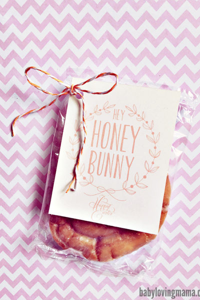 Hey Honey Bunny Free Printable