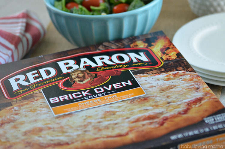 Red Baron Cheese Trio Brick Oven Crust