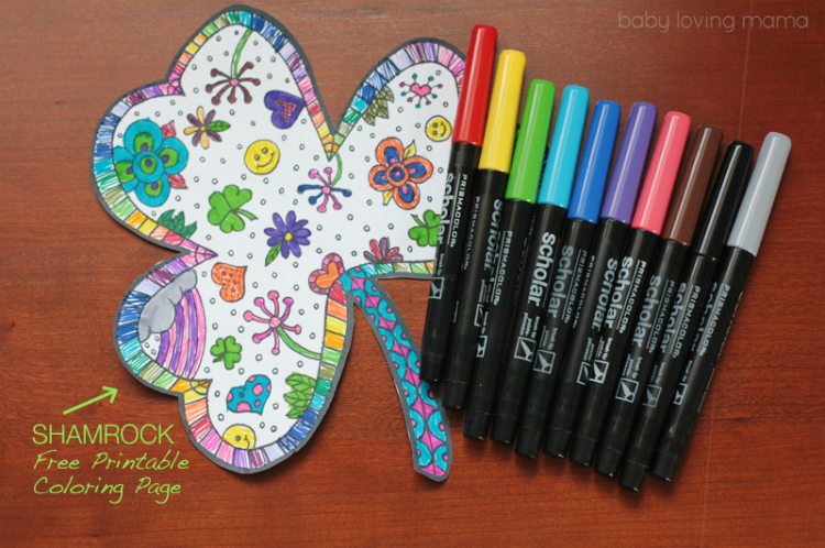 photo relating to Shamrock Coloring Pages Printable referred to as Shamrock Coloring Web page No cost Printable - Acquiring Zest