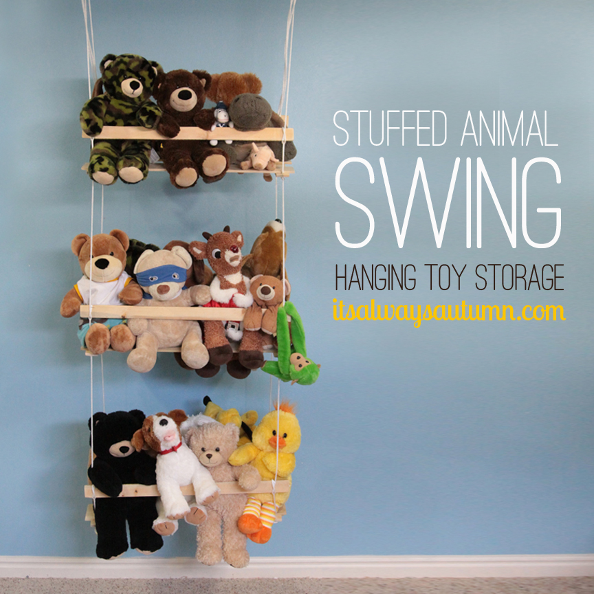 Stuffed Animal Swing Toy Storage
