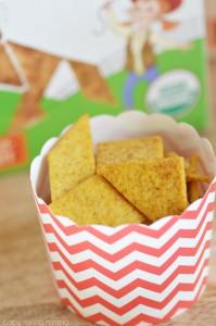 Bitsys Brainfood Organic Smart Crackers Sweet Potato Cinna Graham