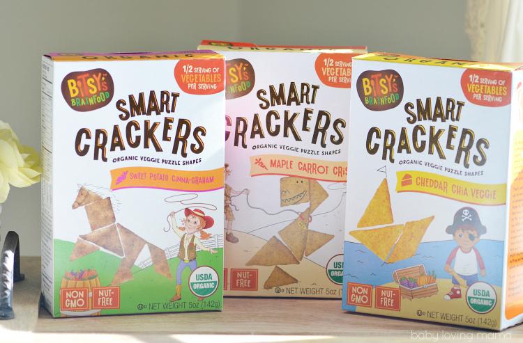 Bitsys Brainfood Organic Smart Crackers