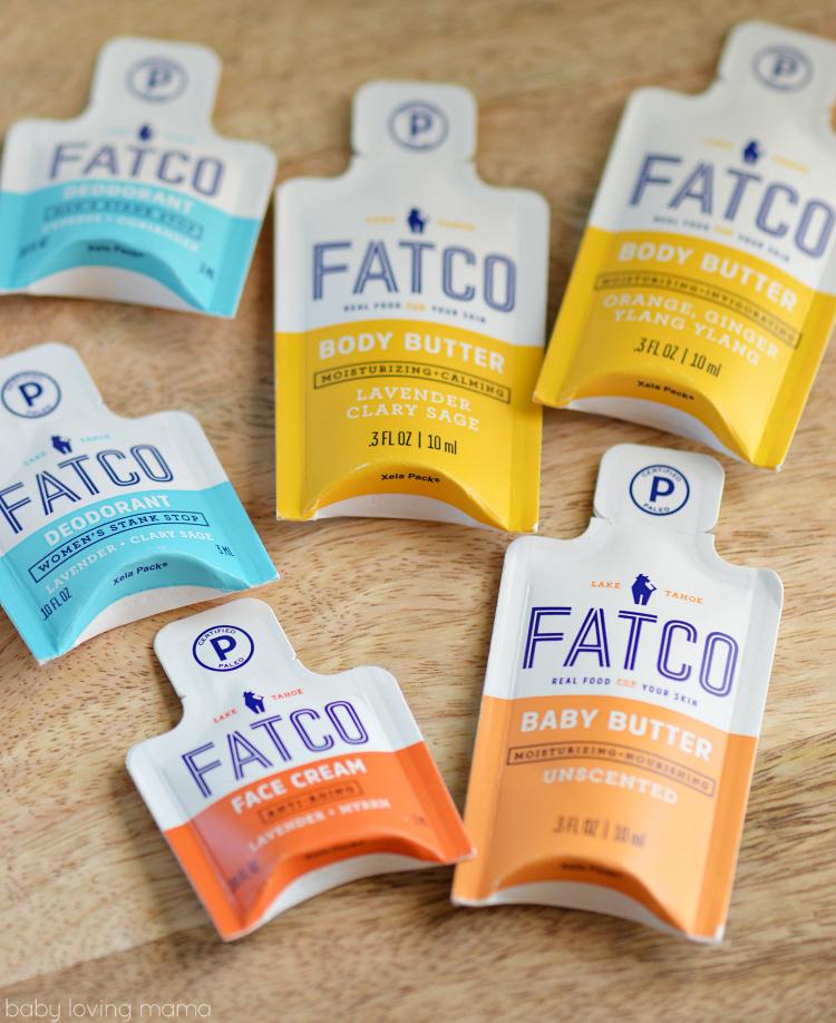 Fatco Body Butter Face Cream Deodorant