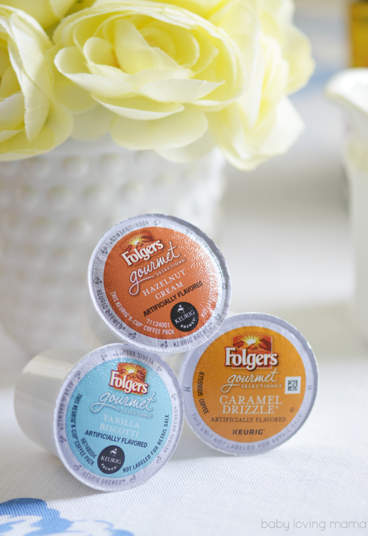 Folgers Gourmet Selections Flavored Cofee KCups