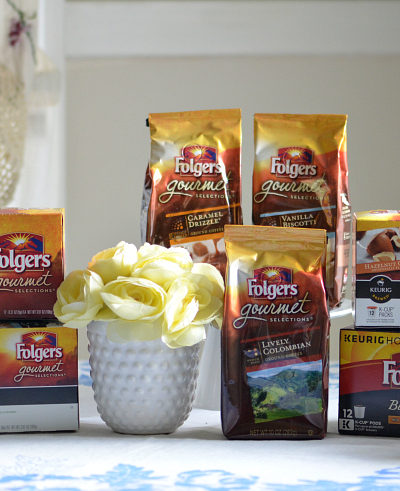 Folgers Ground Coffee and KCups