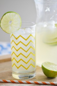 Homemade Limeade Recipe with Simple Syrup